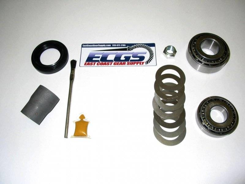 how to change ring and pinion gm 12 bolt