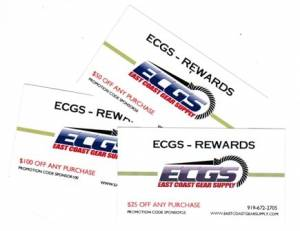 ECGS REWARDS GIFT CARDS