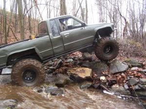 1993 toyota pickup 4x4 gear ratio