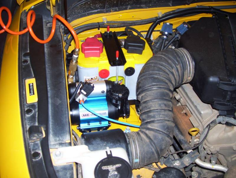 Arb Ckma12 High Output Air Compressor Kit For Arb Air Lockers