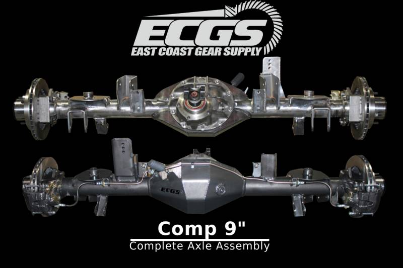 Full Floating Axle >> Ecgs Comp 9 Full Float Complete Axle Assembly Ready To Install