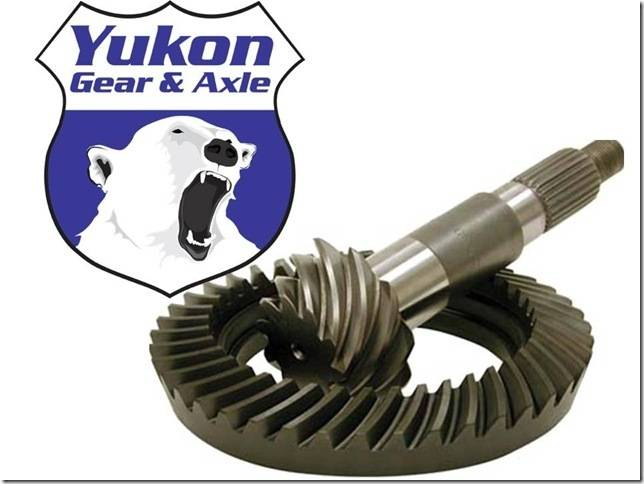 High Performance Ring and Pinion Gear Set for Dana 80 Differential YG D80-373 Yukon