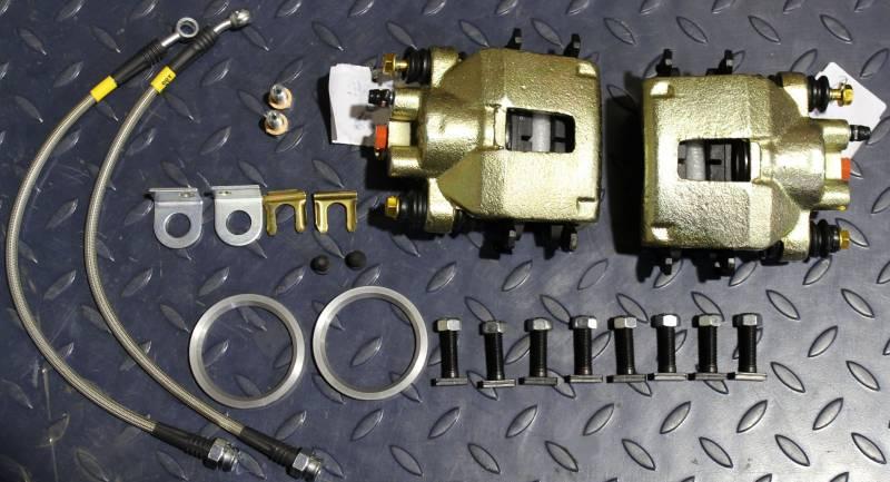 Disc Brake Rotors >> Dana 35/44 Disc Brake Kit