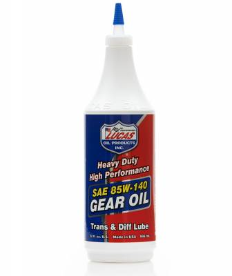 Lucas Oil - Lucas 85w140 Non-Synthetic Gear Oil - Quart