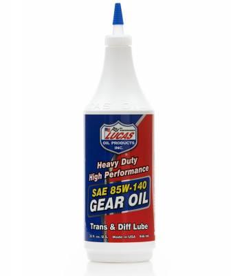Lucas Oil - Lucas 85w140 Non-Synthetic Gear Oil - Quart - Image 1