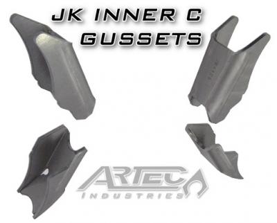 Artec Industries - Dana 30/44 JK Artec C-Gussets - Image 1