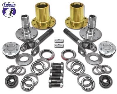 Yukon Gear - Yukon Free Spin Kit - Dana 60 & AAM, 00-08 SRW Dodge