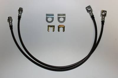 ECGS - Jeep Extended Front Brake Line Kit