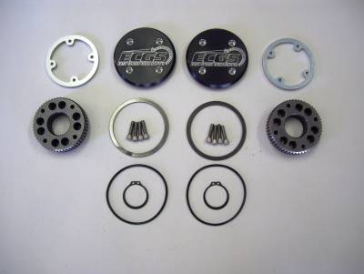 Dana 60 Drive Flange Kit with 35 Spline Drive Slugs - ECGS
