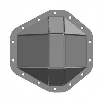 Under Cover Fabworks - GM 14 Bolt Full Float Bent Steel Diff Cover