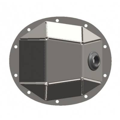 Under Cover Fabworks - Dana 35Bent Steel Diff Cover