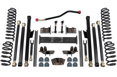 "Clayton Off Road - CLAYTON WJ 4.5"" LONG ARM KIT"