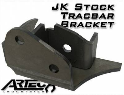 Artec Industries - Artec JK Heavy Duty Stock Tracbar Bracket