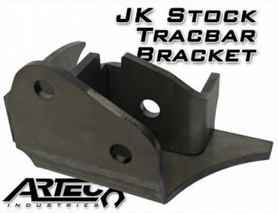 Artec Industries - Artec JK Heavy Duty Stock Tracbar Bracket - Image 1