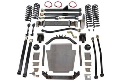 "Clayton Off Road - CLAYTON XJ 6.5"" COIL CONVERSION LONG ARM KIT"