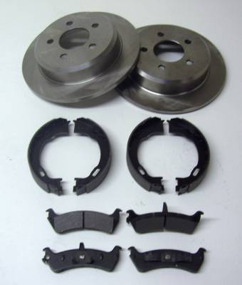 ECGS - Ford 8.8 Disc Brake kit