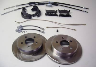 ECGS - Ford 8.8 Full Disc Brake kit