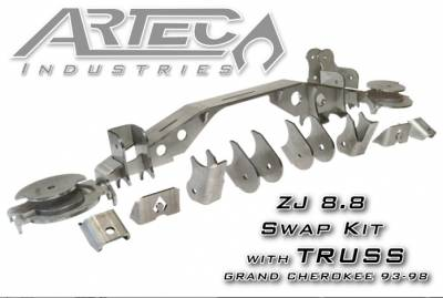 Artec Industries - ZJ - FORD 8.8 Artec Swap Kit with Truss - Image 1