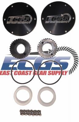 ECGS - Dana 60 Drive Flange Kit - 05+ Super Duty 35 Spline