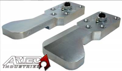 Artec Industries - Artec Aluminum Ultimate 60 High Steer Arms - Pair - Image 1