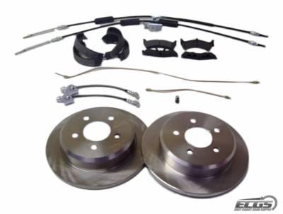 ECGS - Ford 8.8 Full Disc Brake kit - Image 1