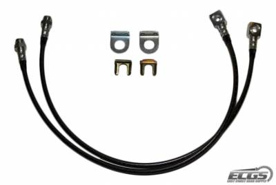 ECGS - Jeep Extended Front Brake Line Kit - Image 1