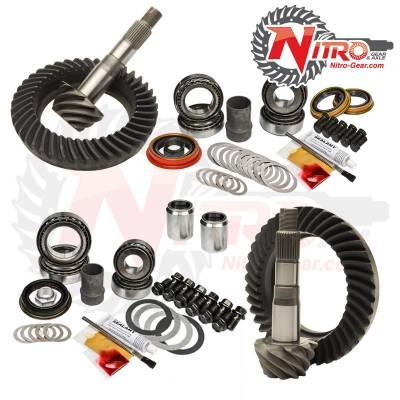 Nitro Gear - 1998-2007 Toyota Landcruiser 100 Series & LX470 With E-Locker 4.88 Nitro Front & Rear Gear Package Kit - Image 1