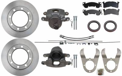 ECGS - GM 14 Bolt Disc Brake Conversion Kit - Image 1