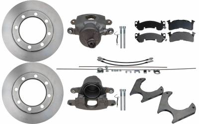 ECGS - Universal Weld On 8 Lug Disc Brake Conversion Kit - Rear Only - Image 1