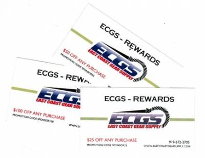 ECGS - $100 ECGS Rewards Gift Card
