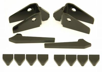 Trail-Gear - Toyota Solid Front Axle Knuckle Creeper Gusset Kit - Image 1