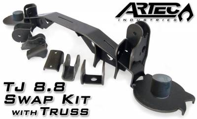 Artec Industries - TJ - FORD 8.8 Artec Swap Kit with Truss
