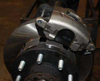 ECGS - GM 14 Bolt Disc Brake Conversion Kit