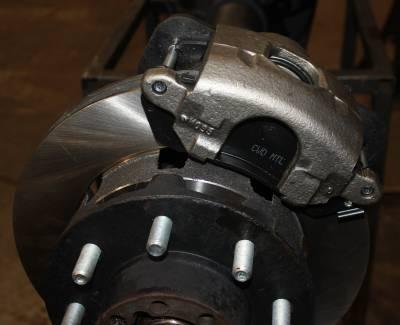 ECGS - Universal Weld On 8 Lug Disc Brake Conversion Kit - Rear Only