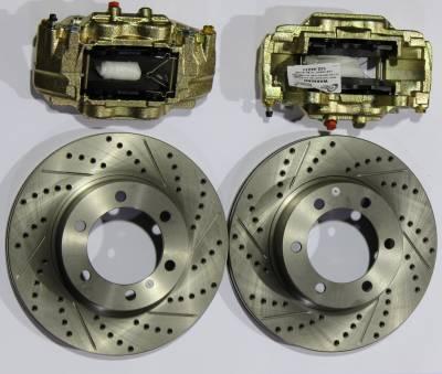 ECGS - Toyota Tacoma 96-04, 4Runner 96-02 Upgraded Disc Brake Kit