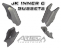 Dana 44 JK (D44RS) Front Reverse - COVERS / AXLE ARMOR UPGRADE PARTS - Artec Industries - Dana 30/44 JK Artec C-Gussets