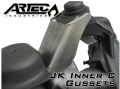 Artec Industries - Dana 30/44 JK Artec C-Gussets - Image 2