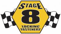 Stage 8 Locking Fasteners - Dana 60/70/GM14T Spindle Nut Kit - X-LOCK